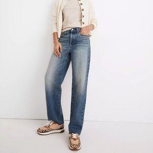 Madewell Dadjean Raw Hem Jeans Style MC577 Size 27